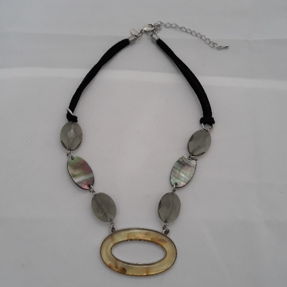 665eaf7228dd4 Lia Sophia Mother of Pearl Necklace